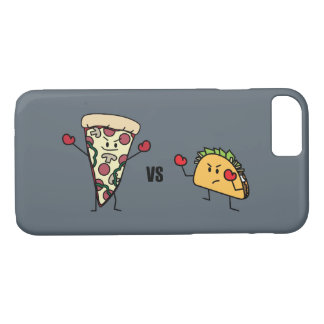 Pepperoni Pizza VS Taco: Mexican versus Italian iPhone 8/7 Case