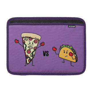 Pepperoni Pizza VS Taco: Mexican versus Italian MacBook Sleeves