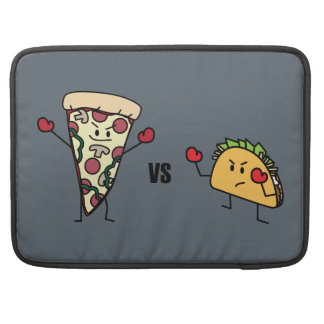 Pepperoni Pizza VS Taco: Mexican versus Italian Sleeve For MacBook Pro
