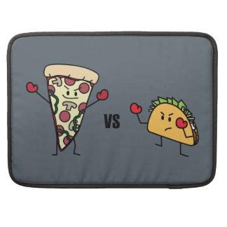 Pepperoni Pizza VS Taco: Mexican versus Italian Sleeve For MacBooks