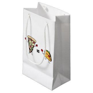 Pepperoni Pizza VS Taco: Mexican versus Italian Small Gift Bag