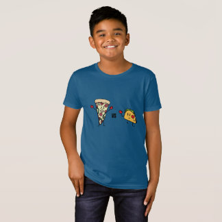 Pepperoni Pizza VS Taco: Mexican versus Italian T-Shirt