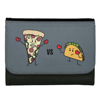 Pepperoni Pizza VS Taco: Mexican versus Italian Women's Wallets