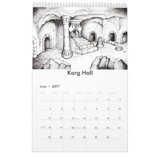 Pepper's Adventures Fantasy Art 2017 Calendar