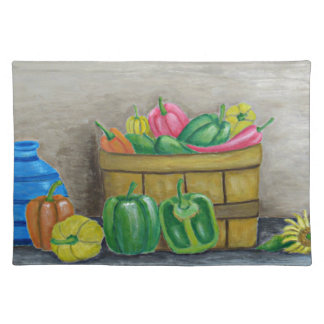 peppers placemat