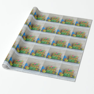 peppers wrapping paper