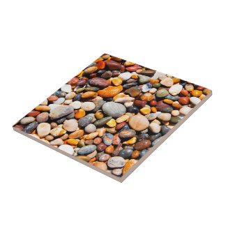Pepples image for Small Ceramic Photo Tile