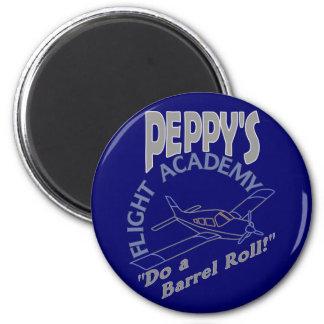 Peppy's Flight Academy 2 Inch Round Magnet