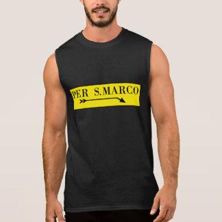 Per San Marco, Venice, Italian Street Sign Sleeveless Shirt