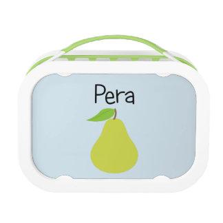 Pera (Pear) Lunch Box