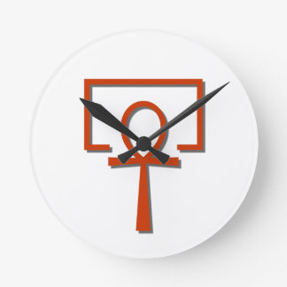 perAnch Haus house Anch Ankh Round Clock