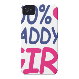 percent Daddy's girl Case-Mate iPhone 4 Cases