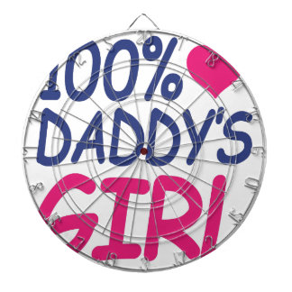 percent Daddy's girl Dartboard