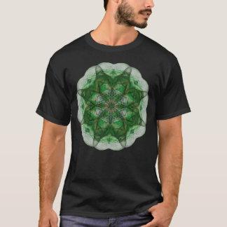 Perception Mandala (green) T-Shirt