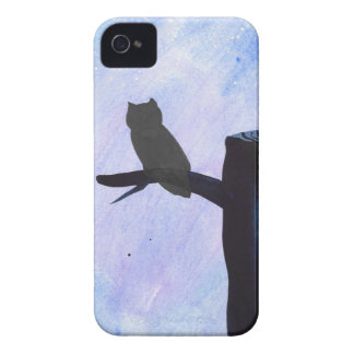 Perched Owl Case-Mate iPhone 4 Cases