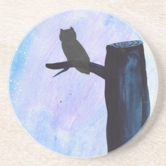 Perched Owl Coaster