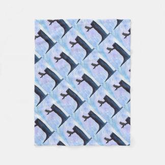 Perched Owl Fleece Blanket