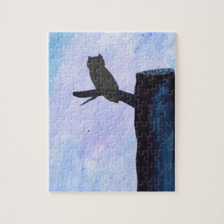 Perched Owl Jigsaw Puzzle