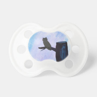 Perched Owl Pacifiers