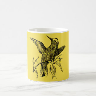 Perching bird coffee mug