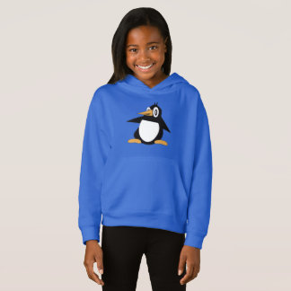 Percius The Penguin Girls Pullover Hoodie