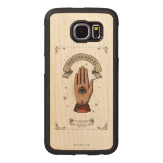 Percival Graves Magic Hand Graphic Wood Phone Case