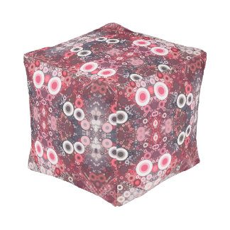 Percolated Pink Pouf