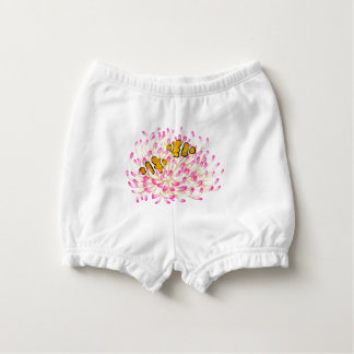 Percula Clownfish on Anemone Baby Bloomers Diaper Cover