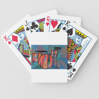 Percussion Bicycle Playing Cards