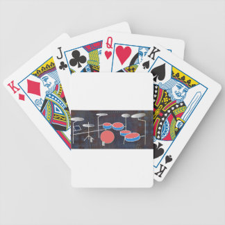 Percussion Color Bicycle Playing Cards