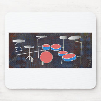Percussion Color Mouse Pad