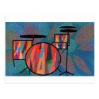 Percussion Postcard