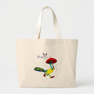 Percy Peacock Large Tote Bag