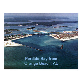 Perdido Bay from Orange Beach, AL Postcard