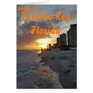 Perdido Key greeting card