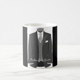 Père de smoking de mariage du cadeau de tasse de