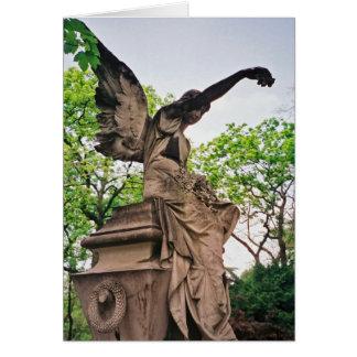 Pere la Chaise Angel Card