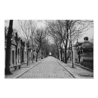 PERE-LACHAISE PATHWAY POSTER