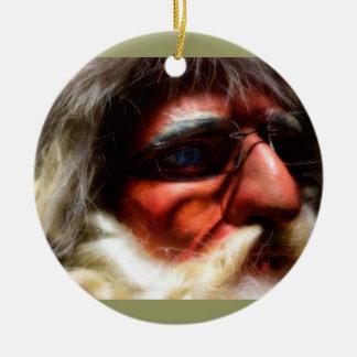 père Noël est ici Ornements