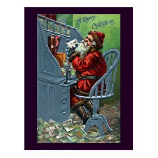 Père Noël obtient beaucoup de courrier
