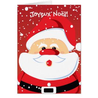 Père Noël Santa Claus cartes Greeting Card