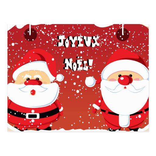 Père Noël Santa Claus cartes postales Post Card