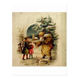Père Noël victorien Cartes Postales