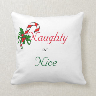 Père Noël vilain ou gentil je peux expliquer le Oreiller