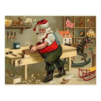 Père Noël vintage Carte Postale