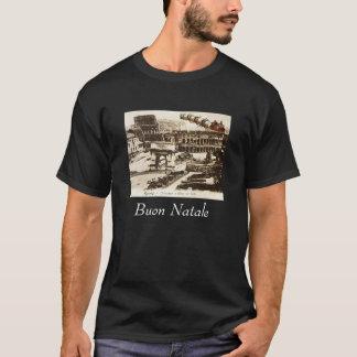 Père Noël vintage dans le T-shirt de Noël de Rome