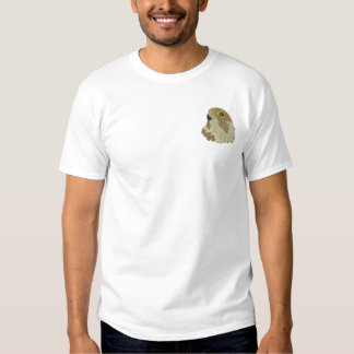 Peregrine Falcon Embroidered T-Shirt