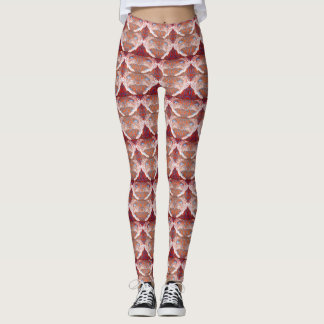 Peregrine Falcon Patterned Leggings