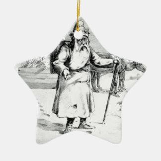 Perenoel Ceramic Star Ornament
