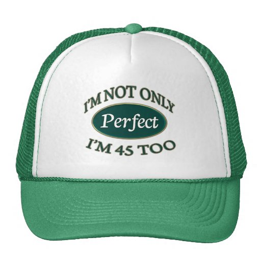 Perfect 45 Year Old Hats